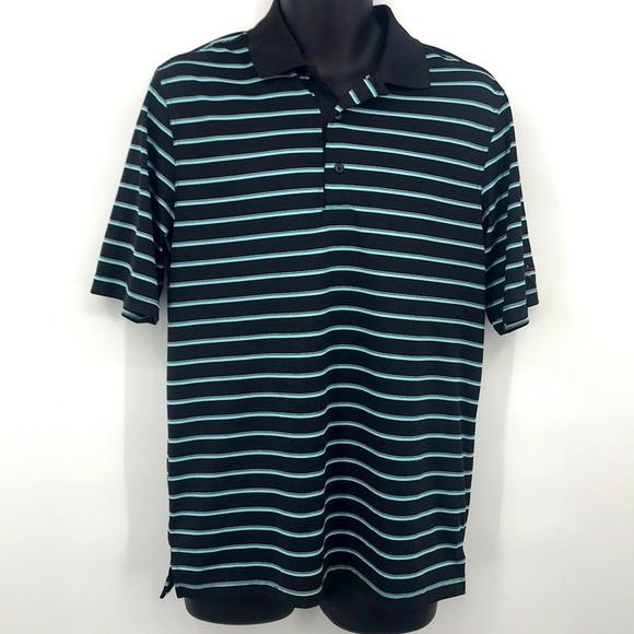 Greg Norman Men's Polyester Golf Polo Shirt  Small